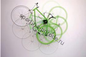 Крепление велосипеда на стену Qube XL (за любую часть рамы, 360 градусов) белое