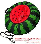 """Санки-ватрушка (тюбинг) """"Арбуз 95"""" с камерой"""